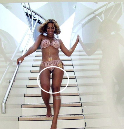 Beyonce ritoccata photoshop - 2