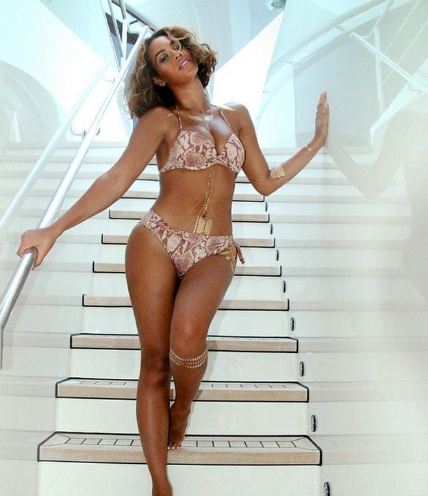Beyonce ritoccata photoshop