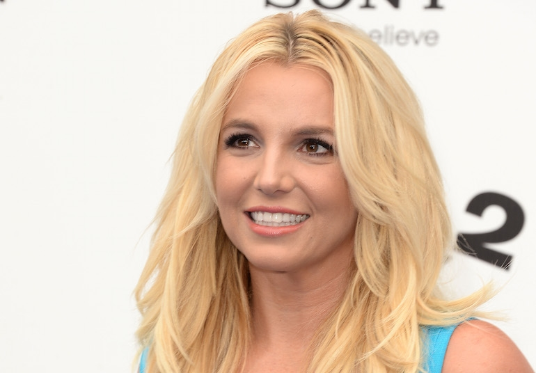 Britney Spears rinoplastica prima