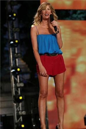 Le gambe di Alessia Marcuzzi
