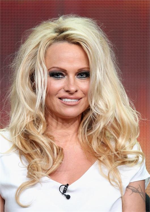 Pamela Anderson Rughe