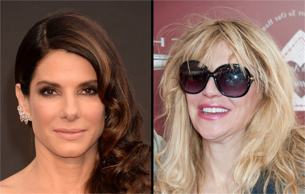 courtney love - sandra bullock