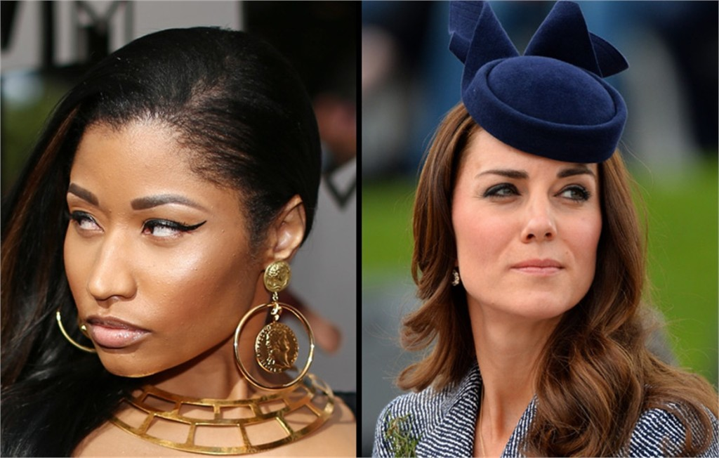 kate middleton - nicki minaj
