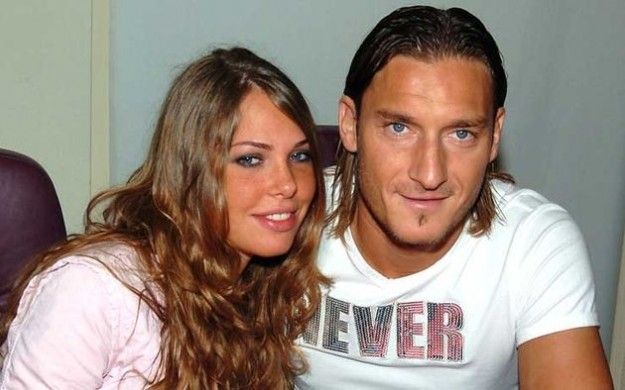 Ilary Blasi - Francesco Totti Ieri