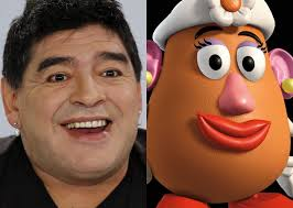 Maradona rifatto
